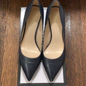 Nine West - Navy kitten heals 6.5